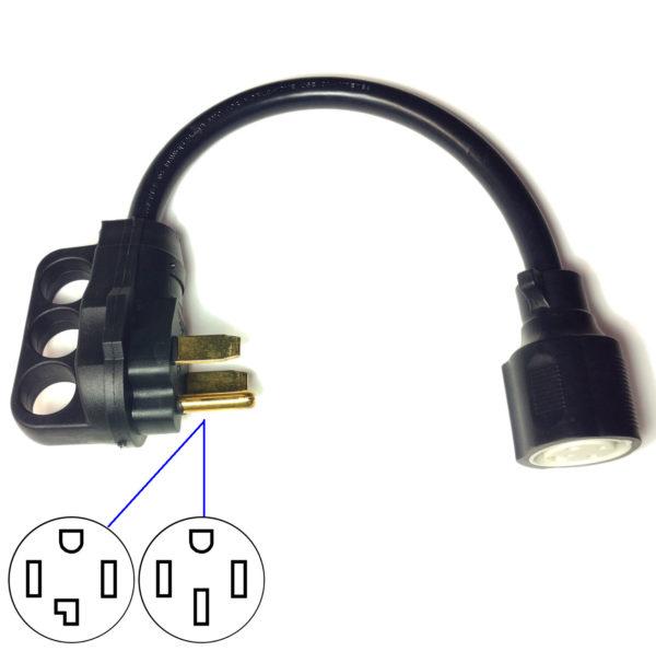 Nema 14 30 >> Nema 14 30 Adapter For Tesla Model S And Model X Gen 1