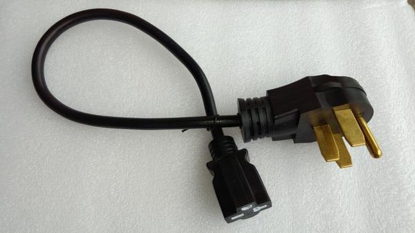 NEMA 14-50P to 6-20R Adapter, 2 ft