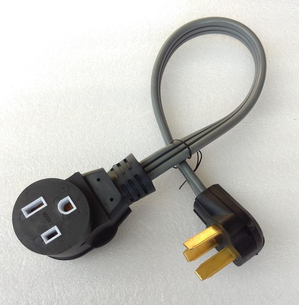 NEMA 10-50P to 6-50R Adapter for Welder or EV on welder plug wiring, electric range plug wiring, nema 6 50 240 volt wiring, 220v wire 6 50r wiring,