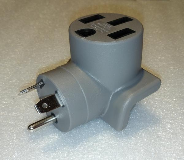 TT-30P to NEMA 14-50R Adapter for EV Charging at Campgrounds